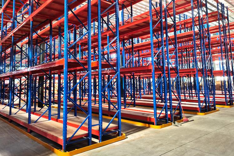 重型横梁木板货架案例